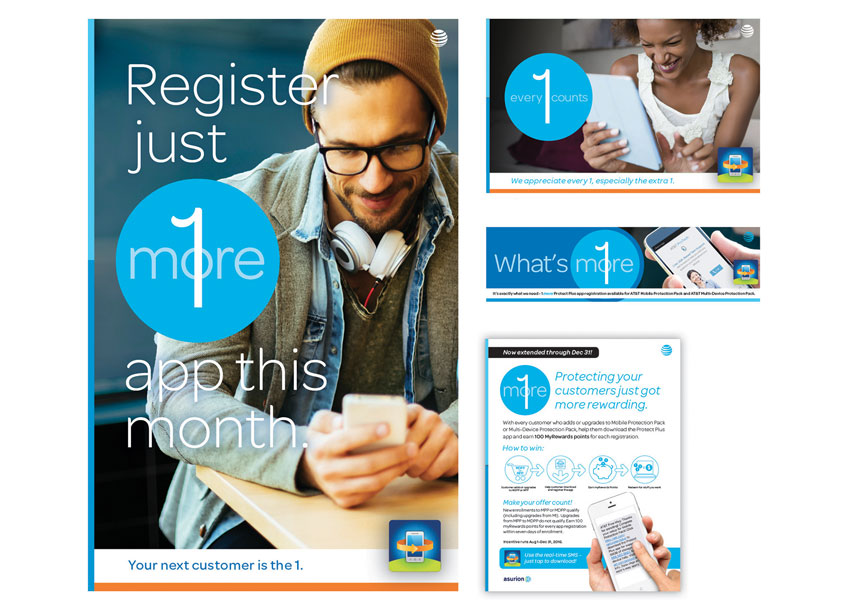 AT&T One More Campaign Advertising by Asurion