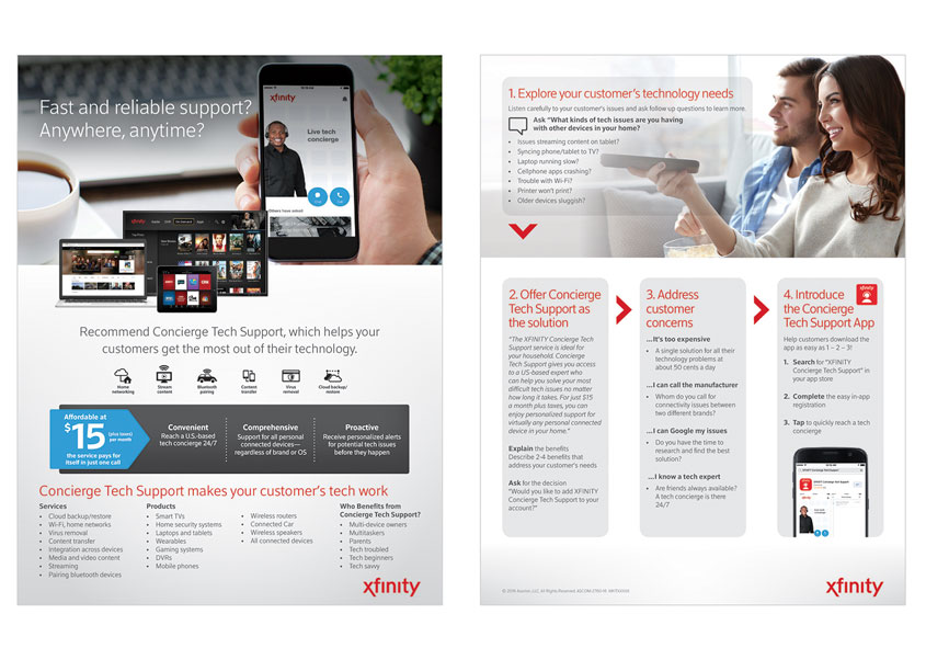 XFINITY Concierge Quick Reference Guide by Asurion