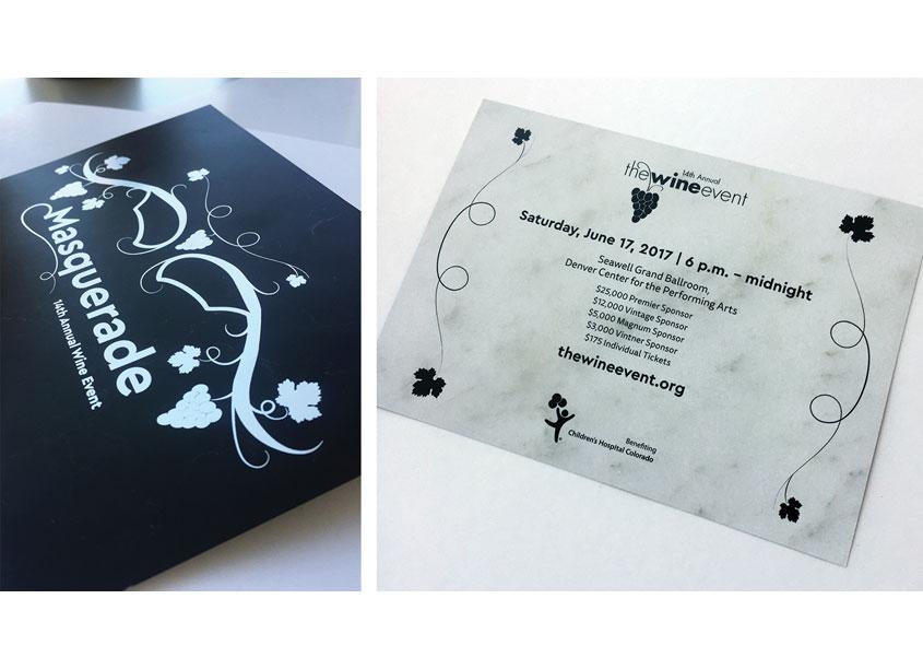 Masquerade Invitation by Children's Hospital Colorado