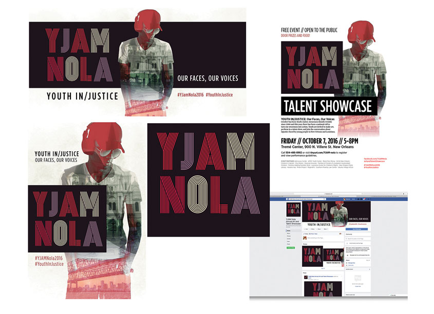 YJAM New Orleans Talent Showcase Campaign by Southern Poverty Law Center (SPLC)