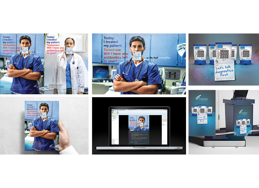 Diagnostics First Campaign Direct Mail by Cepheid