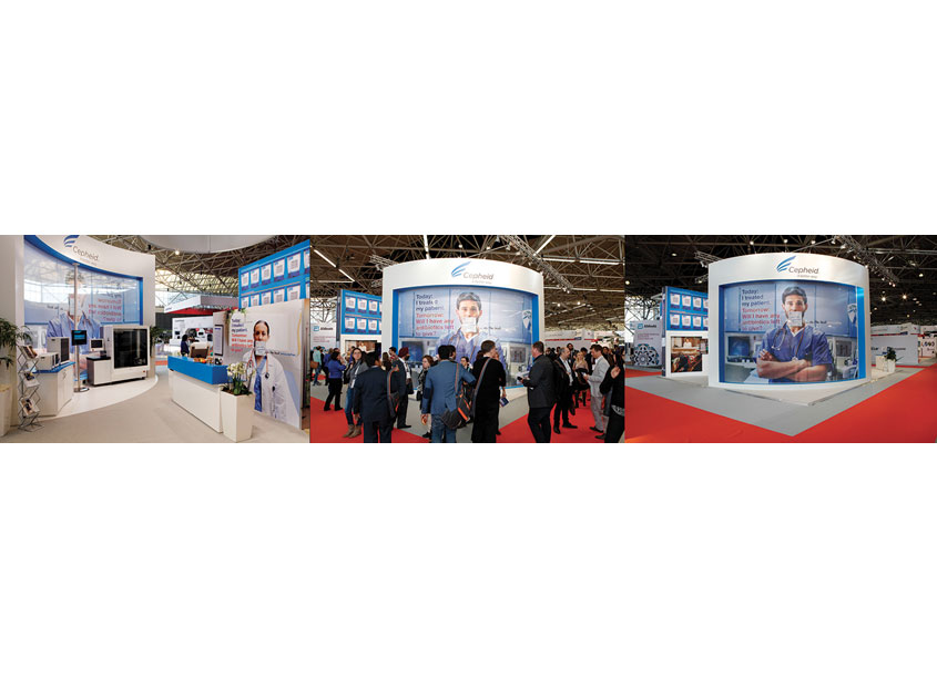 Diagnostics First Tradeshow Graphics by Cepheid