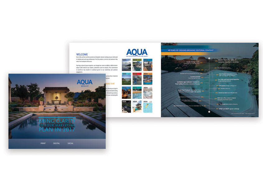 AQUA Magazine 2017 Media Kit by AB Media, Inc.