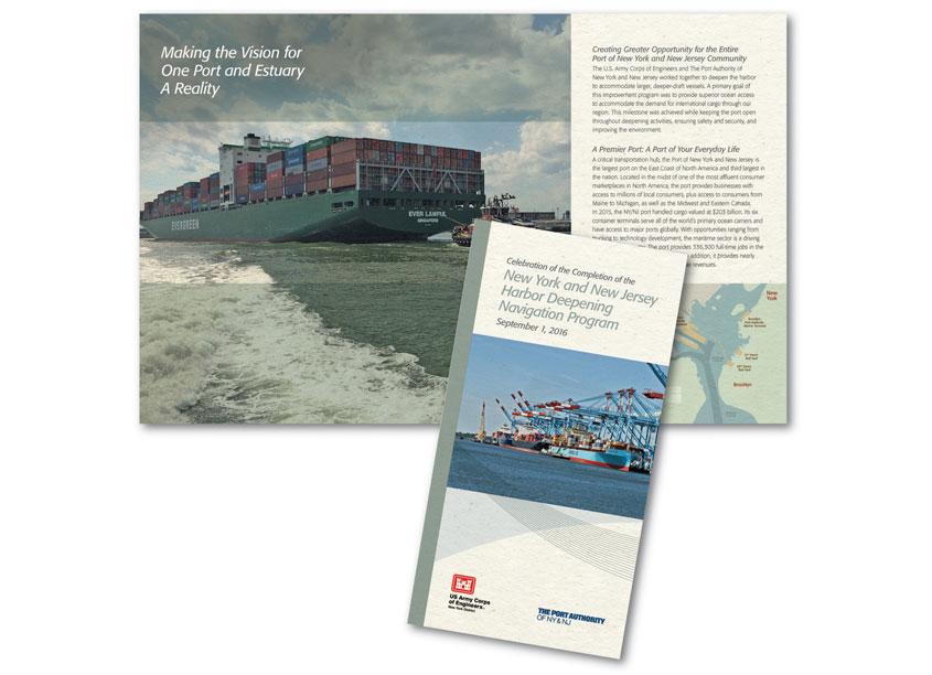 NY-NJ Harbor Deepening Program by The Port Authority of NY & NJ - Creative Services