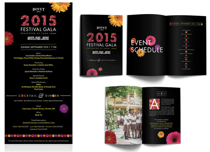 APJ 2015 Festival Gala by Artists for Peace and Justice