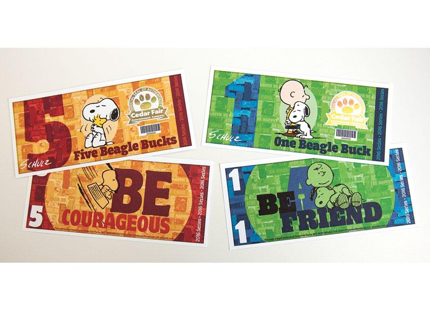 Cedar Fair Beagle Bucks by Cedar Fair Entertainment Company