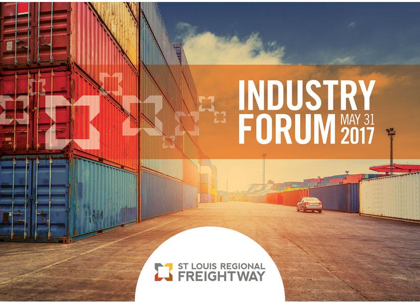 Freightway Forum Postcard by Bi-State Development