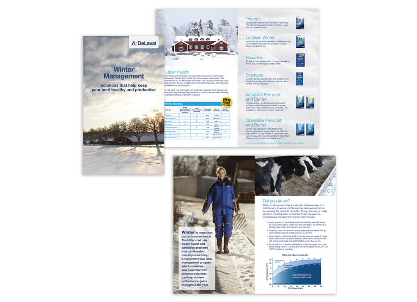 Winter Management Brochure by DeLaval Inc.