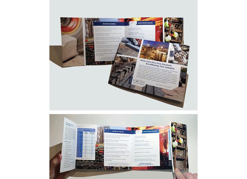 Silica Rule Standards Brochure by HazTek Inc. Marketing + Design Department