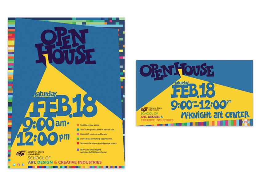 School of Art, Design + Creative Industries OpenHouse by School of Art, Design and Creative Industries, Wichita State University