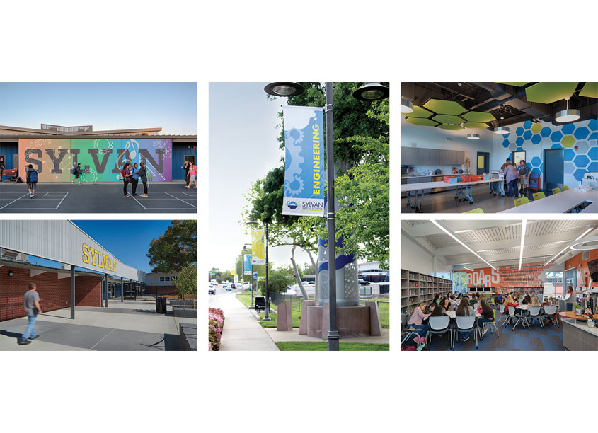 Campus Branding Environmental Graphics by Lionakis