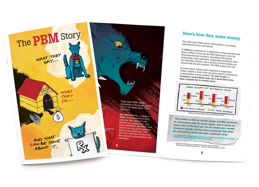 PBM Story Book by National Community Pharmacists Association