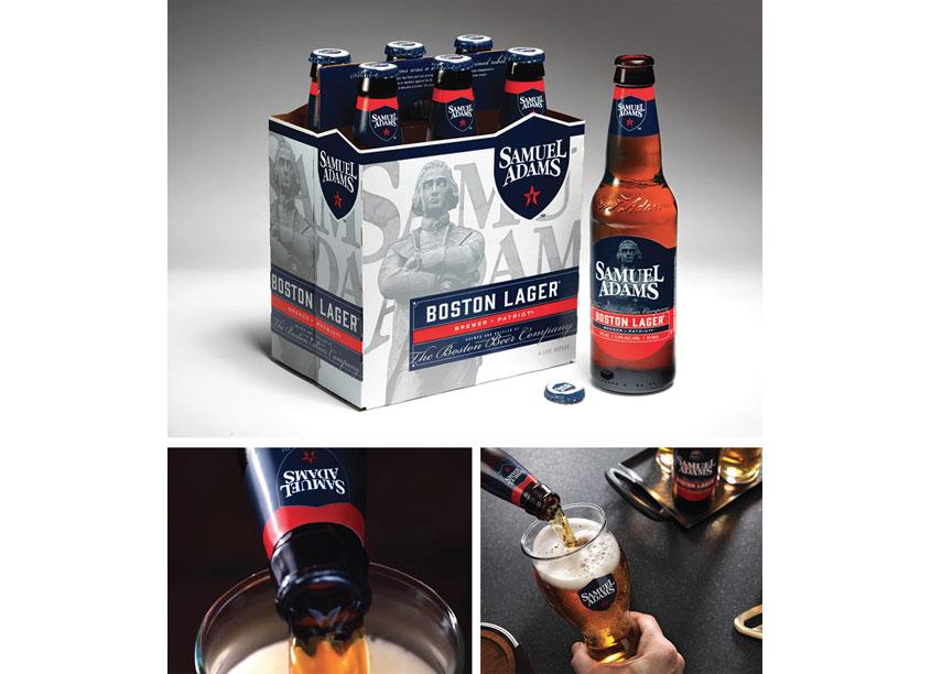 Samuel Adams Redesign Art Directors: Meghan Andersen, Scott Watters by The Boston Beer Company/Creative Services