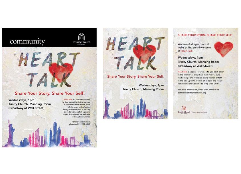 Heart Talk by Trinity Church Wall Street