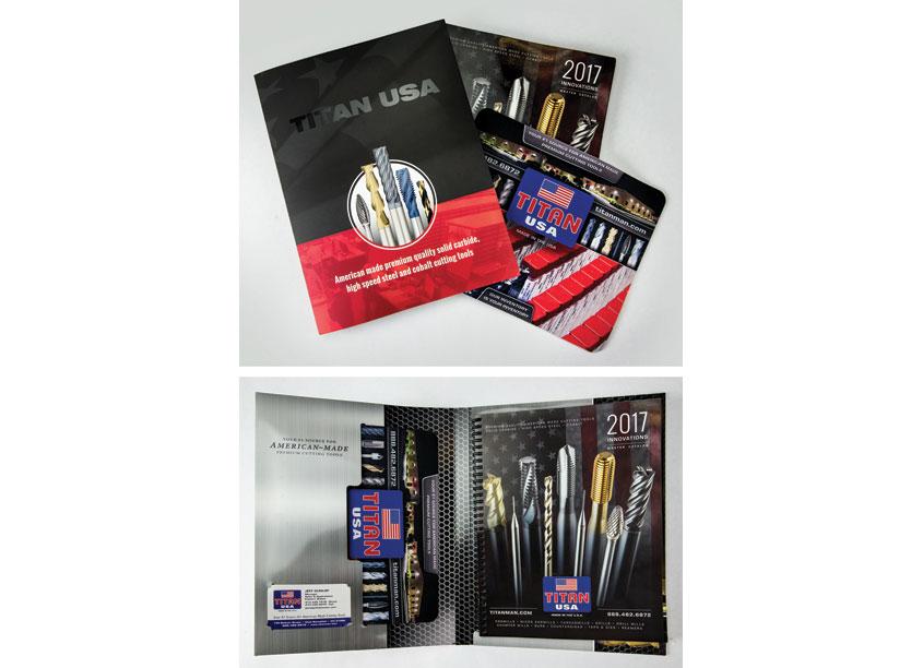 TITAN USA Sales Portfolio Kit and Catalog by TITAN USA