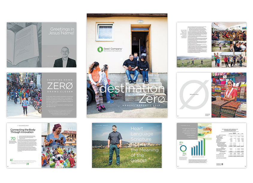 Seed Company Annual Report by Seed Company