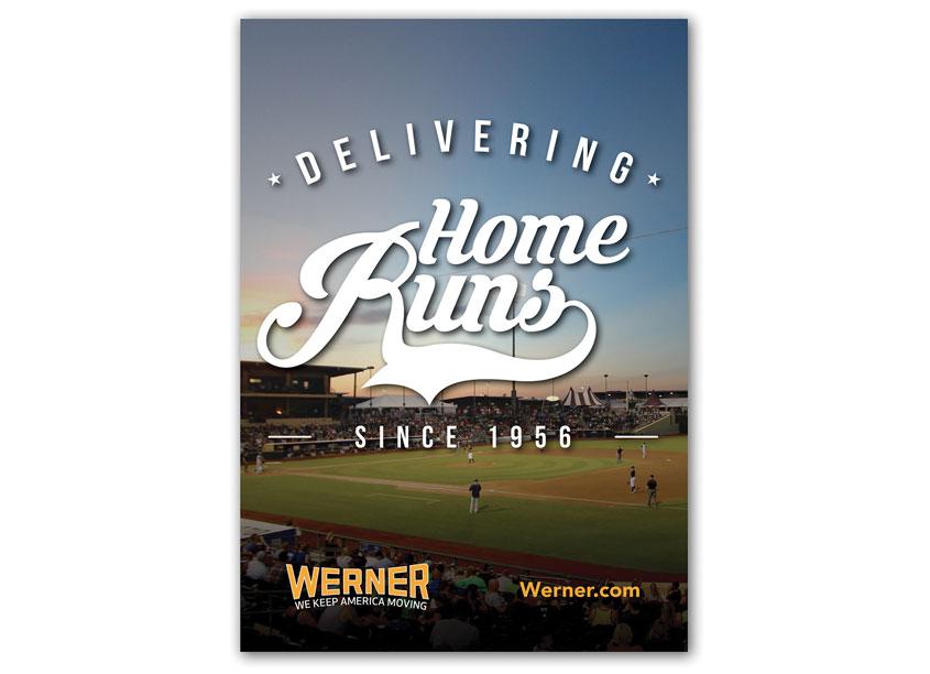 Werner Park Advertising 2017 by Werner Enterprises