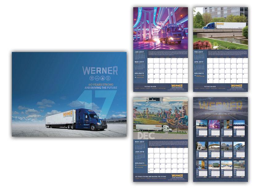 Werner 2017 Calendar by Werner Enterprises