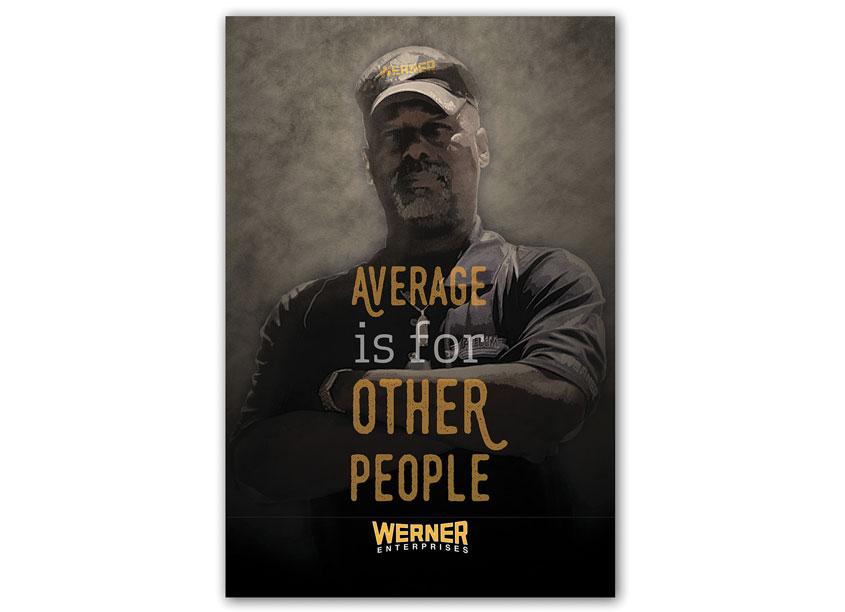 Elite Poster by Werner Enterprises