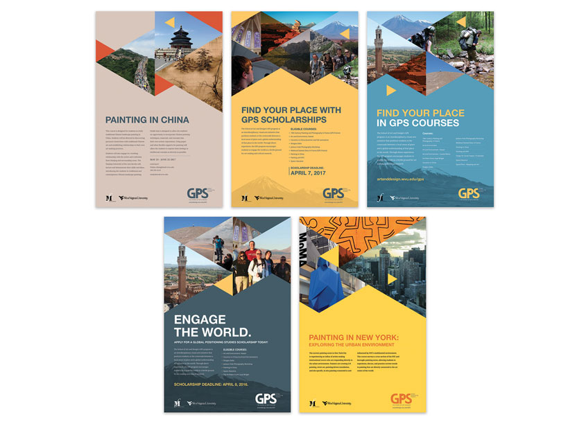 Global Positioning Studies Posters by West Virginia University