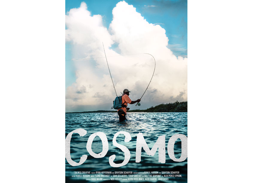 Cosmo Film Poster by YETI