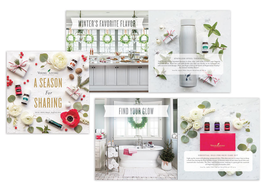 Creative Director: Snow Crane by Young Living Essential Oils