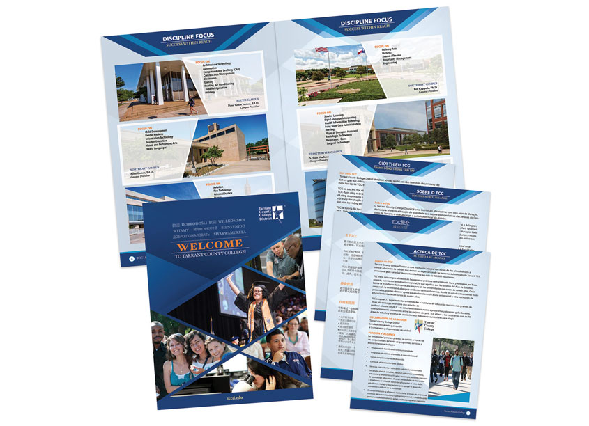 Welcome, International Recruitment Booklet by Tarrant County College District/Graphic Services