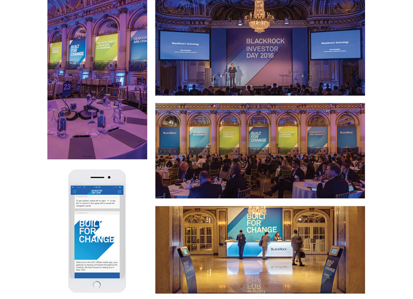 Investor Day Event Graphics by BlackRock