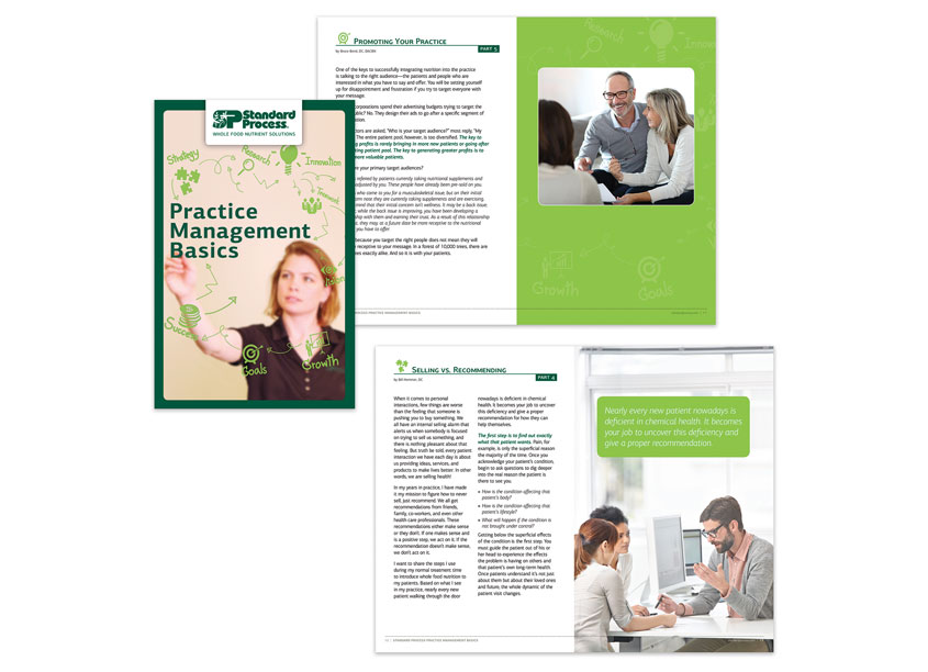 Practice Management Basics Booklet by Standard Process Inc.