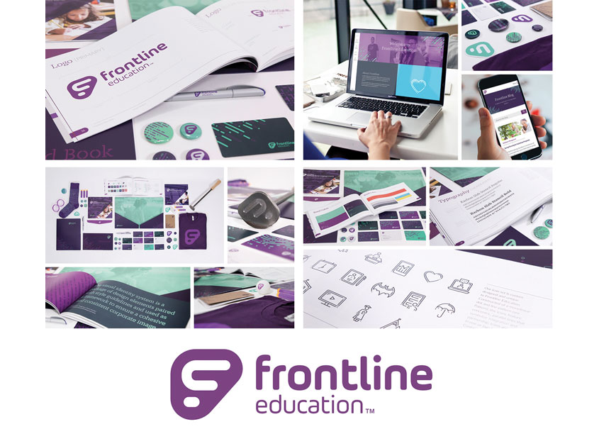 Frontline Education Brand Identity System by Frontline Education