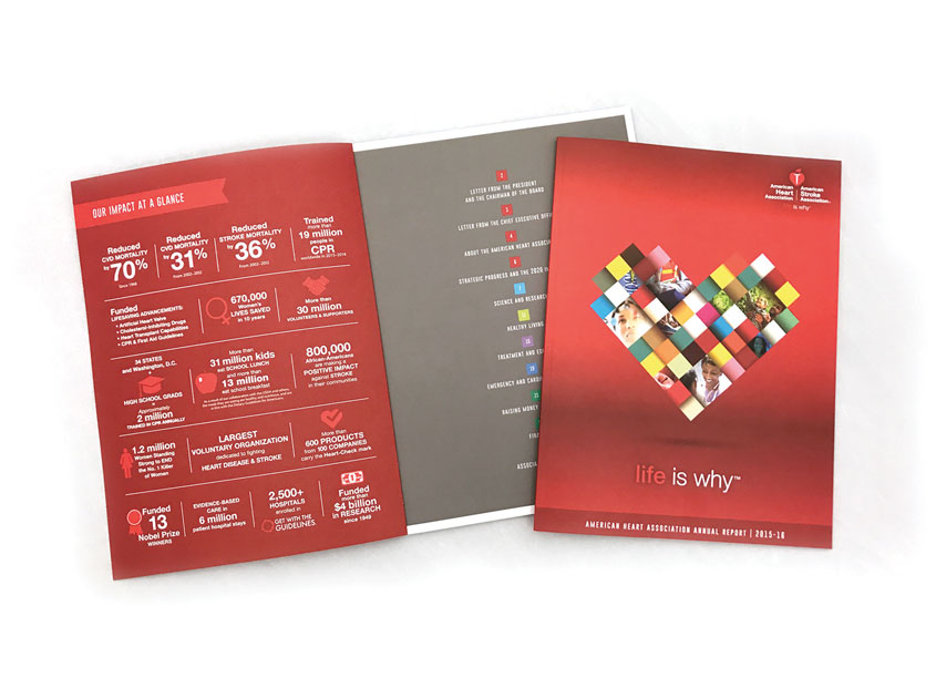 American Heart Association Annual Report 2015-16 by American Heart Association
