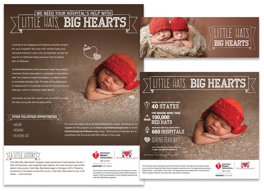 Little Hats, Big Hearts Promotional Brochure by American Heart Association