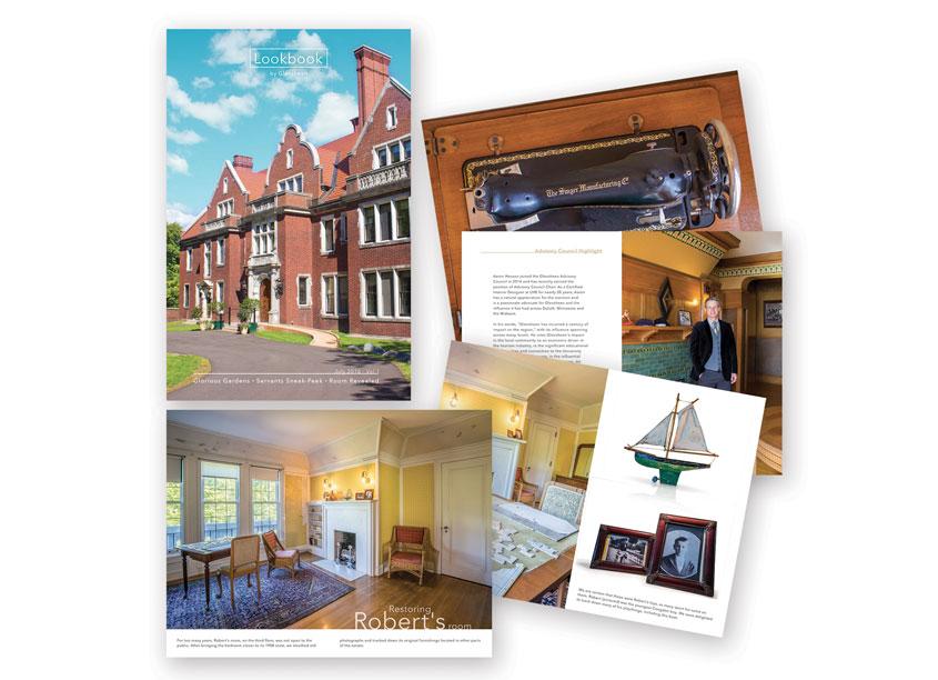 Glensheen's Summer Lookbook by Glensheen Mansion/Daymark Designs, LLC