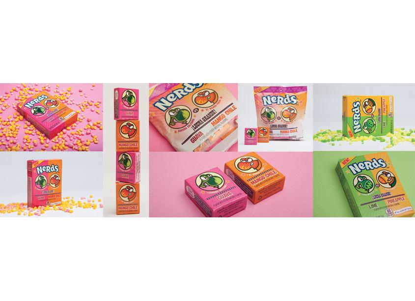 Nestle Dulceria Nerds Packaging Art Directors: Dan Castro, Jean Chu by Nestle USA