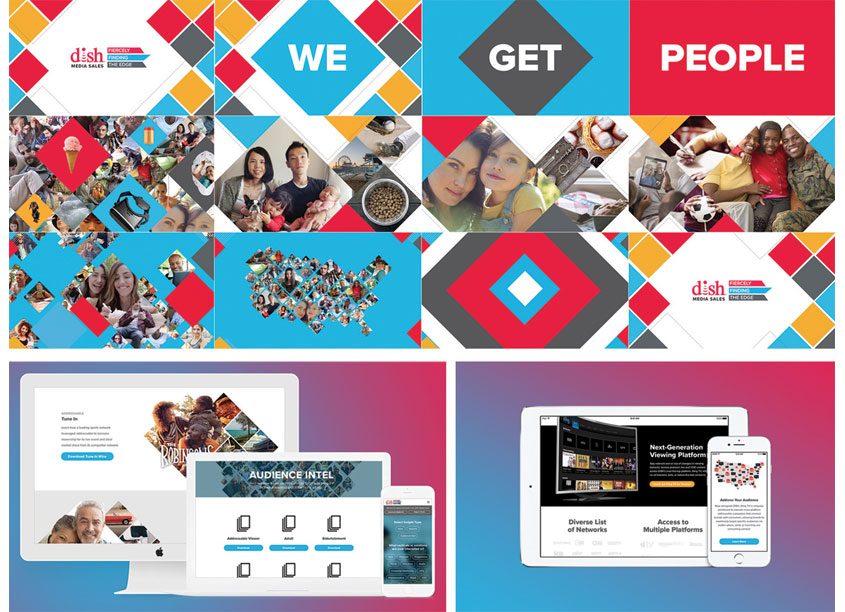 DISH Media Sales - Sales Presentation and Website by OneTen Creative/DISH Network
