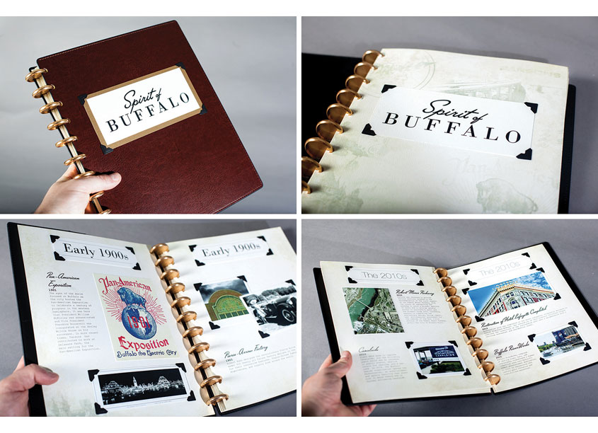 Parsons Spirit of Buffalo Scrapbook by Parsons Corporation