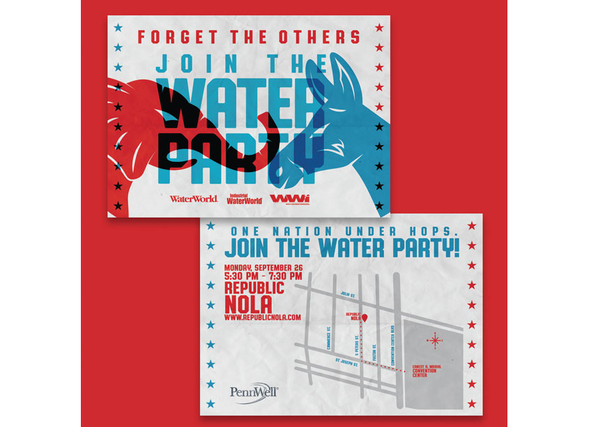 WaterWorld WEFTC New Orleans Invitation by PennWell Corporation