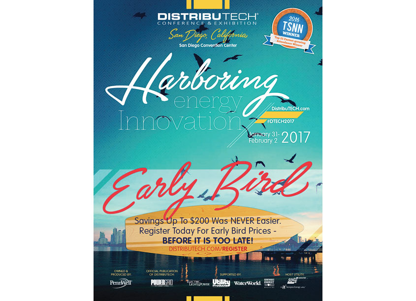 DistribuTech Early Bird Print Advertising by PennWell Corporation