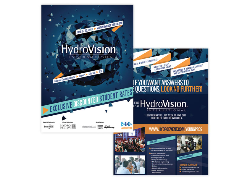 HydroVision Student Discount Flyer by PennWell Corporation