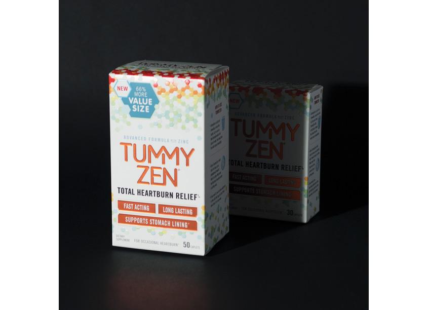 Wallace Church & Co. Tummy Zen Packaging