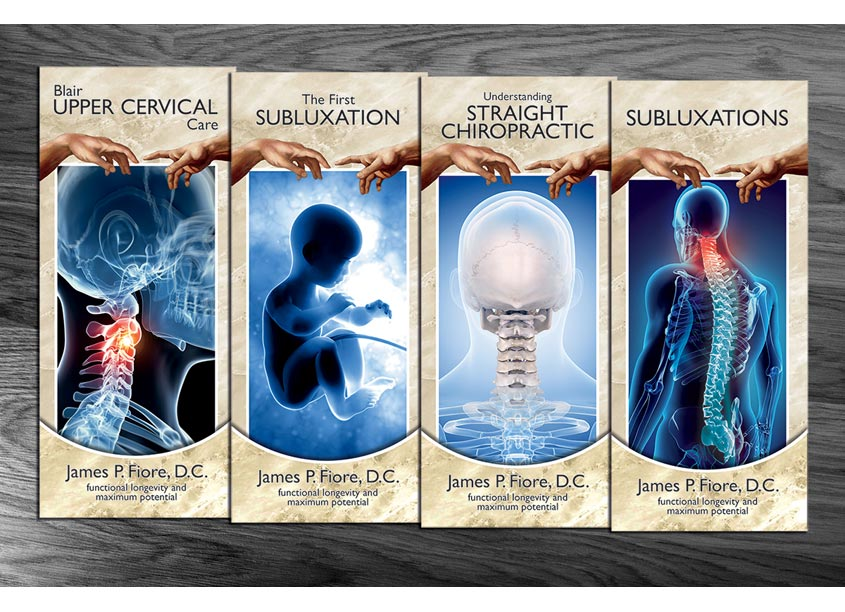 21-13 Impact Graphics Straight Chiropractic Brochures