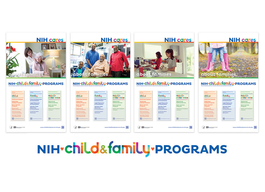 NIH Medical Arts Branch NIH Child & Family Programs Branding