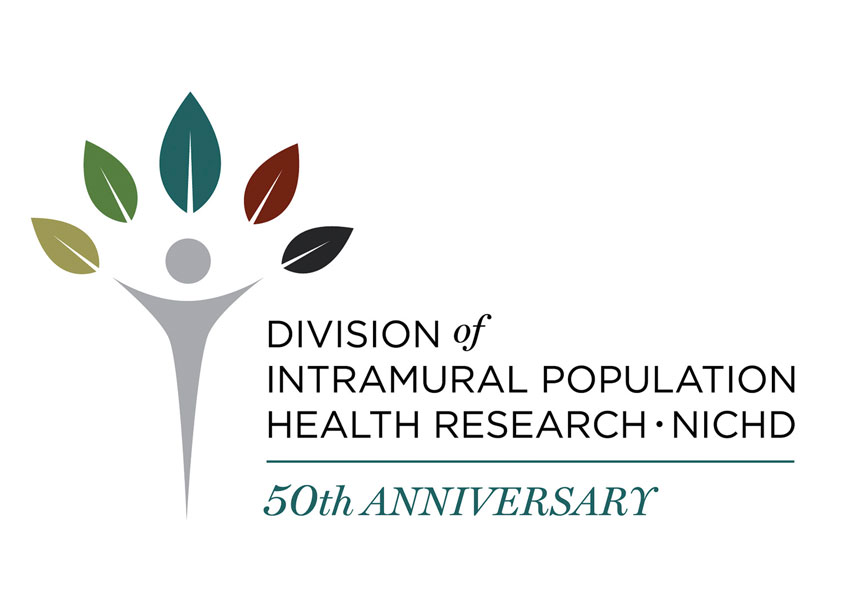 NIH Medical Arts Branch Division of Population Health Research (DIPHR) 50th Anniversary Logo