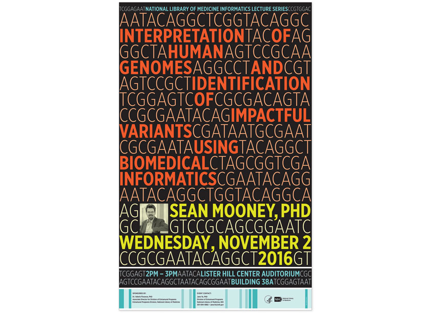 NIH Medical Arts Branch NIH Human Genomes Poster