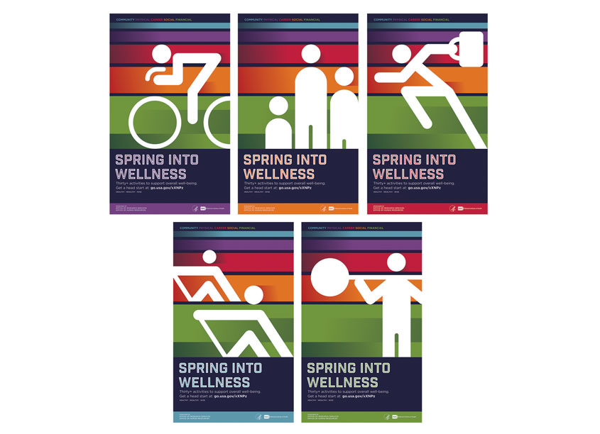 NIH Medical Arts Branch NIH Spring Into Wellness Poster Series
