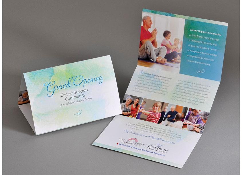 Barnett Design, Inc. Cancer Support Invitation