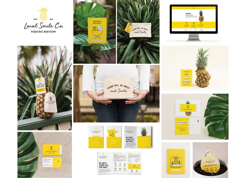 Test Monki Local Smile Co. Brand Identity