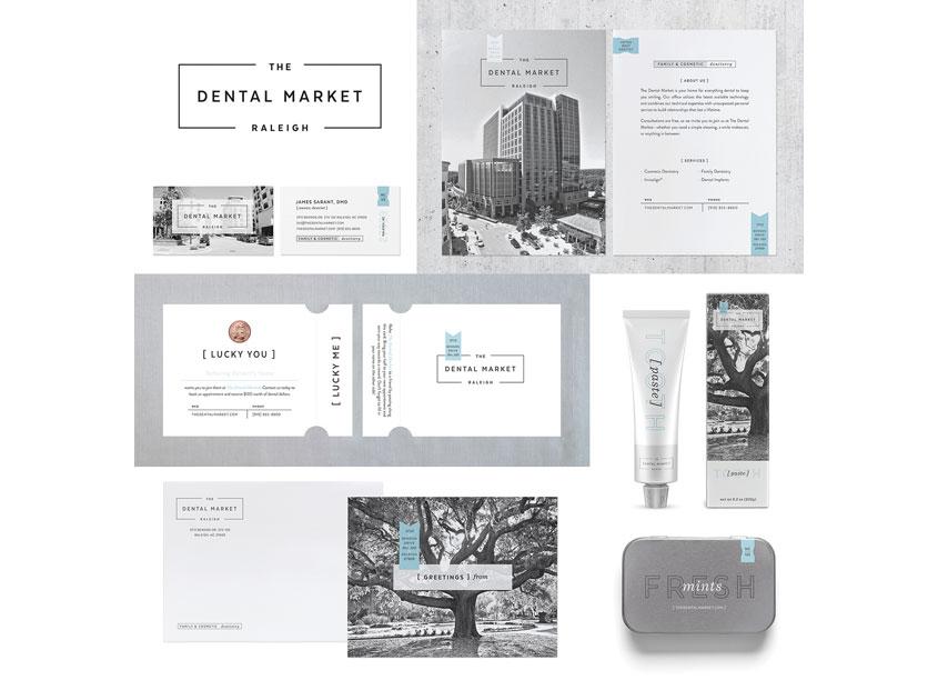 Test Monki The Dental Market Brand Identity
