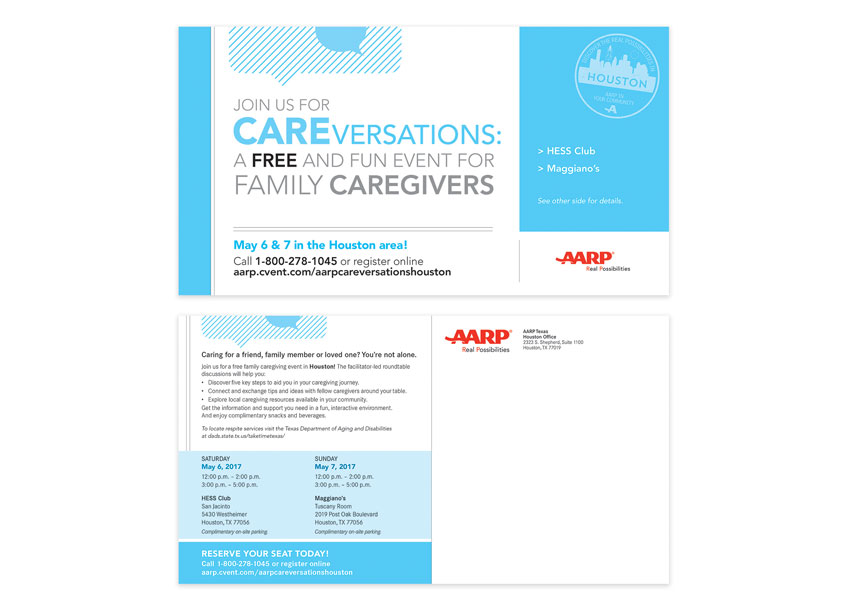 AARP AARP Careversations Direct Mail Campaign