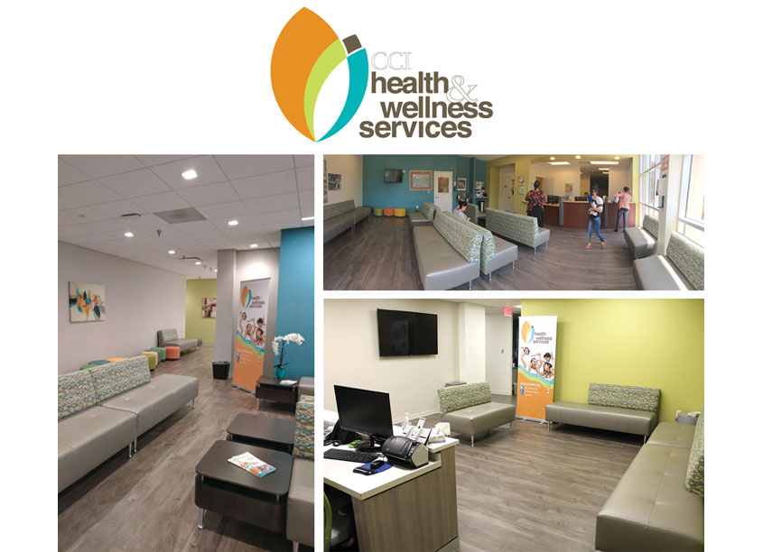CCI Health & Wellness Services Health Center Environmental & Experiential Branding